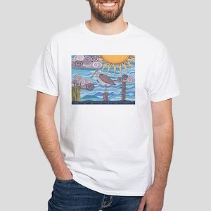 Heron's Watch White T-Shirt