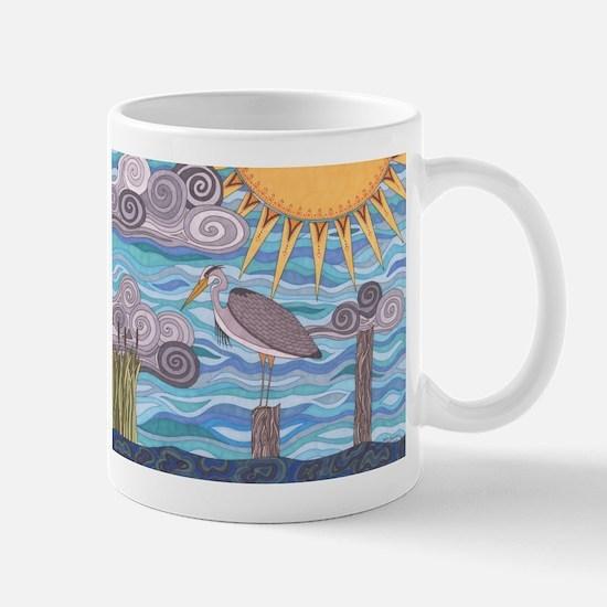 Heron's Watch Mug
