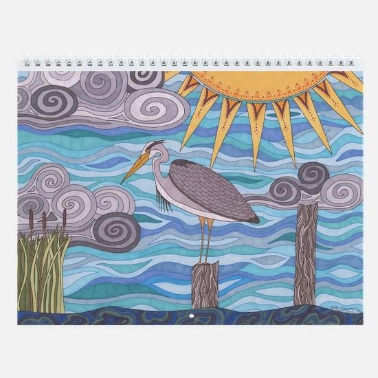 Heron's Watch Wall Calendar