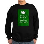 Keep Calm Cthulhu Sweatshirt (dark)