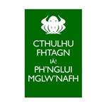 Keep Calm Cthulhu Mini Poster Print