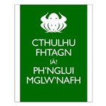 Keep Calm Cthulhu Small Poster