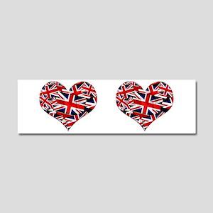 Union Jack - British UK Flag He Car Magnet 10 x 3