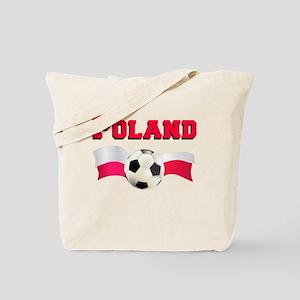 Polish Football (Soccer) Tote Bag