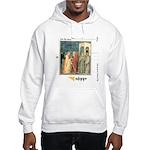 hooded DOUBT sweatshirt