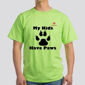 Have Paws T-Shirt Assorted Colors