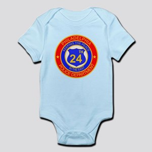 Philadelphia Police 24th Dist Infant Bodysuit