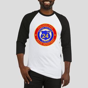 Philadelphia Police 24th Dist Baseball Jersey