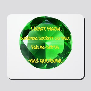 HHS QB Mousepad