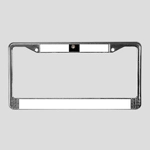 Full Moon License Plate Frame
