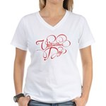 Valentines Day Women's V-Neck T-Shirt