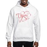 Valentines Day Hooded Sweatshirt