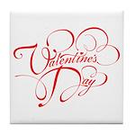 Valentines Day Tile Coaster
