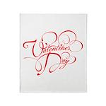 Valentines Day Throw Blanket