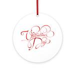 Valentines Day Ornament (Round)