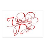 Valentines Day Postcards (Package of 8)