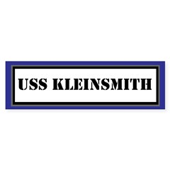 USS Kleinsmith Sticker (Bumper)
