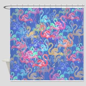 Flamingo pattern Shower Curtain