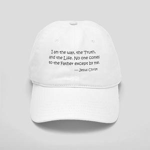 I am the way.... Jesus Christ Cap