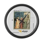 DOUBT large wall clock
