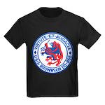 USS BROWNSON Kids Dark T-Shirt