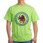 USS BROWNSON Green T-Shirt