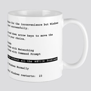 Restart Windows *!@#?!!* Mug