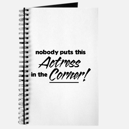 Actress Nobody Corner Journal