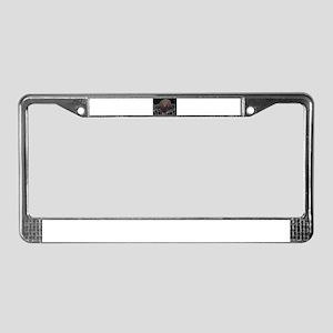Bob Llama License Plate Frame