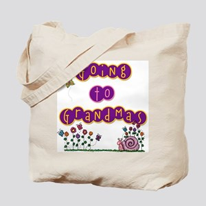 Girl Going to Grandma's Tote Bag