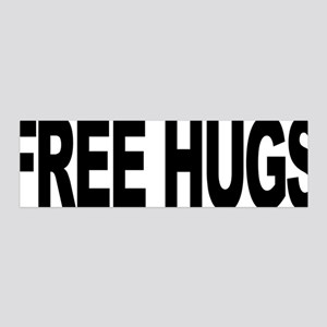Free Hugs (L) 42x14 Wall Peel