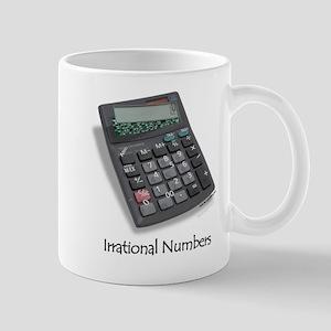Irrational Numbers Mug