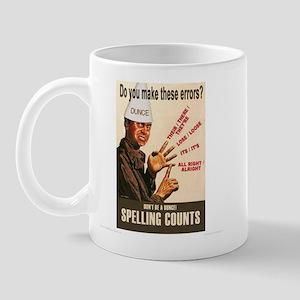 Spelling Counts! Mug