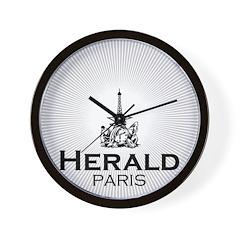 """Herald de Paris """"Luxe"""" Wall Clock"""