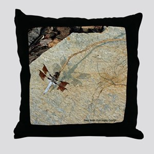 Dragonfly Shadow Throw Pillow