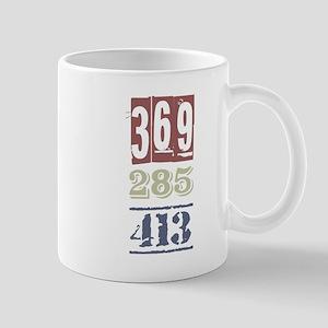 Numbers Mugs