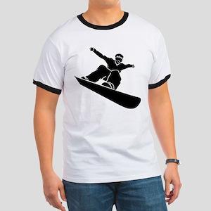 Go Snowboarding! Ringer T