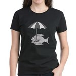 Umbrella Fish Women's Dark T-Shirt