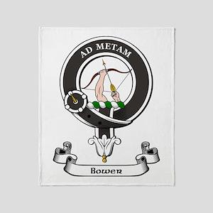 Badge - Bower Throw Blanket