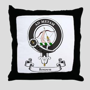 Badge - Bower Throw Pillow