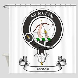 Badge - Bower Shower Curtain
