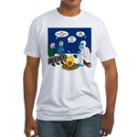Yeti Winter Campout Fitted T-Shirt