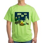 Yeti Winter Campout Green T-Shirt
