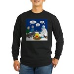 Yeti Winter Campout Long Sleeve Dark T-Shirt