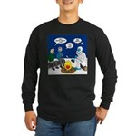 Yeti Winter Campout Long Sleeve Dark T-Shirt