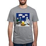 Yeti Winter Campout Mens Tri-blend T-Shirt