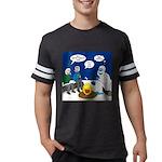 Yeti Winter Campout Mens Football Shirt