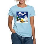 Yeti Winter Campout Women's Classic T-Shirt
