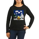 Yeti Winter Campo Women's Long Sleeve Dark T-Shirt