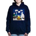 Yeti Winter Campout Women's Hooded Sweatshirt